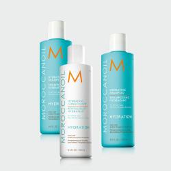 Moroccan Oil Trio Offer- Hydrating Shampoo x 2 + Conditioner