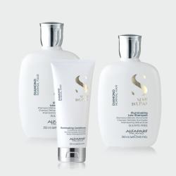 Alfaparf  Trio Offer- Diamond Illuminating Shampoo x 2 + Conditioner