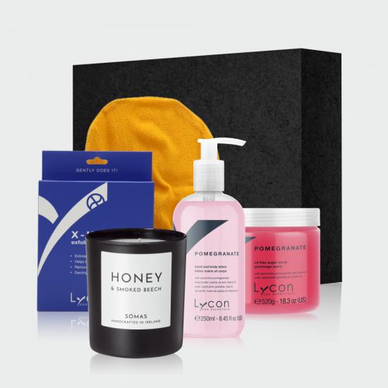 Ultimate Spa Gift Box Pomgranate