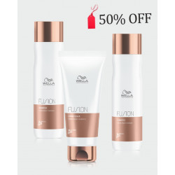 Wella Bundle Offer 50% OFF second bottle of shampoo- Professionals Fusion Intense Repair Shampoo X 2 + Conditioner