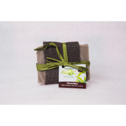 Hierro Aloe Soap - Chocolate, 95g